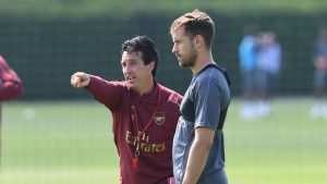 Arsenal boss Unai Emery confident Aaron Ramsey will sign new deal