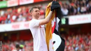 Per Mertesacker: Ex-Arsenal captain 'relieved' not to play in final year at club