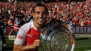 Santi Cazorla says Arsenal lacked belief to challenge under Arsene Wenger