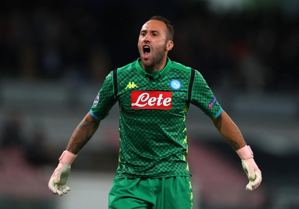 Ospina kept a clean sheet against Liverpool in the Champions League