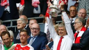 Arsenal confident that 'self-sustaining business model' will bring major trophies