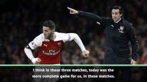 Football: Arsenal closing gap on top teams after 'complete' performance – Emery