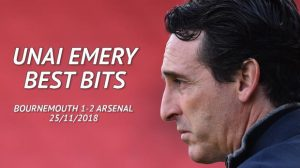 Football: Three is the magic number as Arsenal extend unbeaten run – Emery's best bits