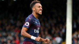 Arsenal star Aubameyang crowned Premier League Player of the Month