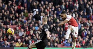 Ozil returns as Aubameyang double leads Arsenal past Burnley