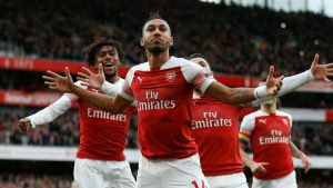 Training routine inspired Arsenal's second goal in Burnley win – Aubameyang