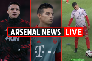 7am Arsenal transfer news LIVE: Greenwood signs contract, 'low level' talks with Rodriguez, Sanchez makes dig at Gunners