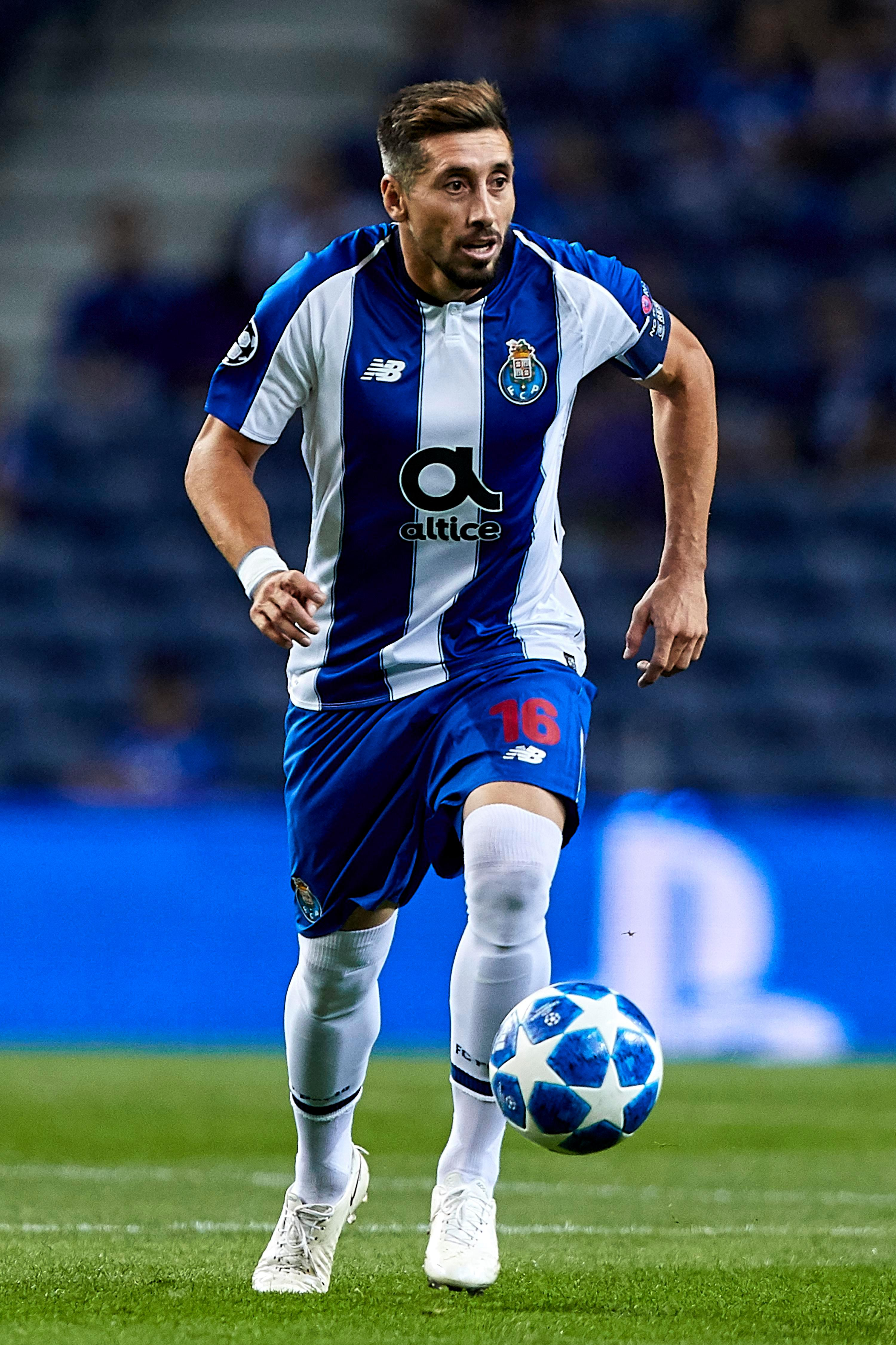Porto midfielder Hector Herrera is a reported target for Arsenal with his contract soon to expire
