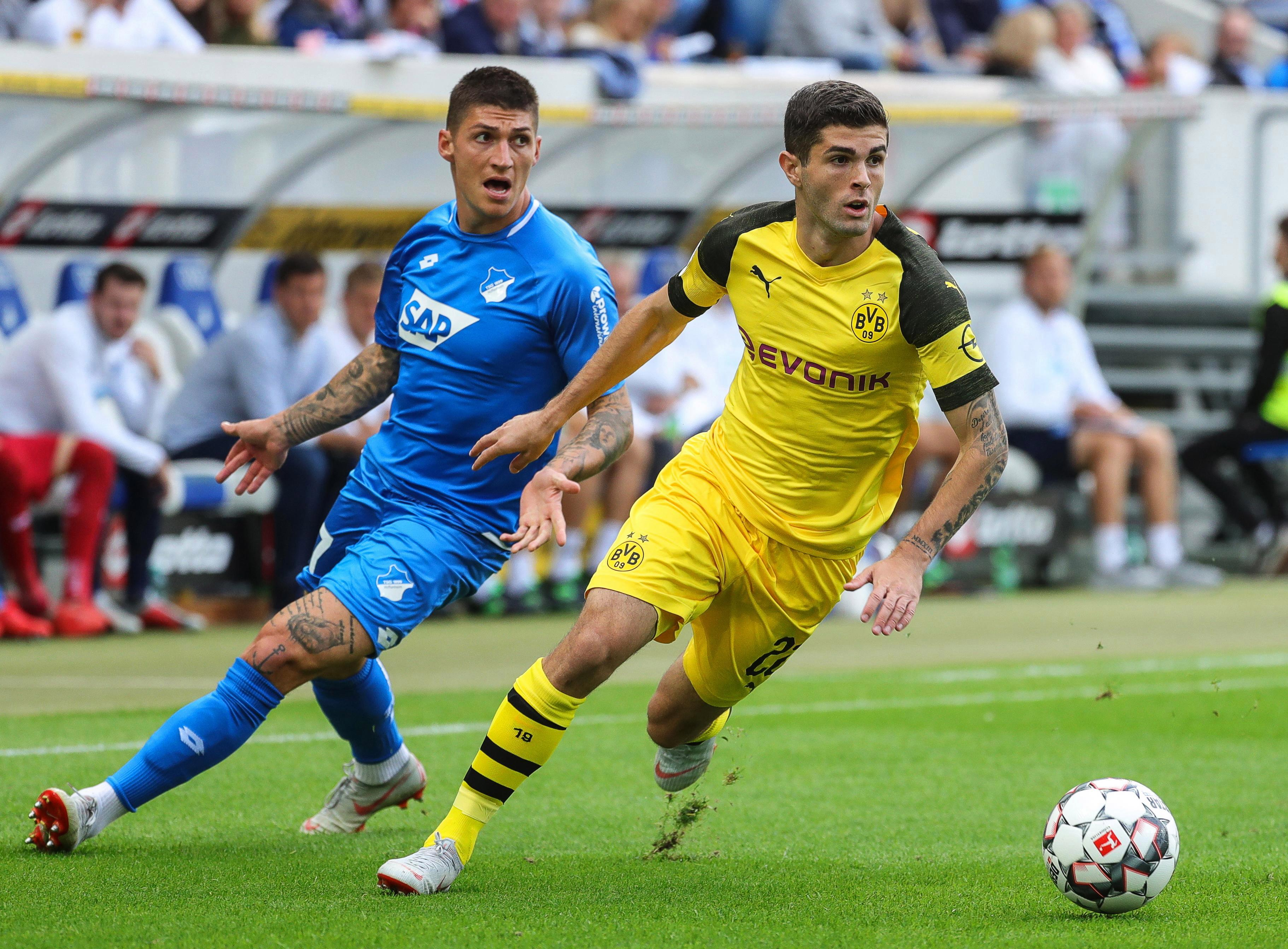 Christian Pulisic has been a sensation since making his Dortmund debut aged 17