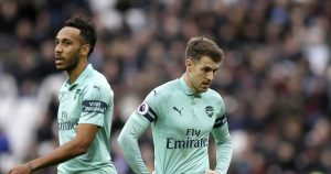 Ozil dropped as Arsenal loses; Liverpool leads by 7 points