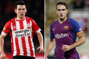 3.35pm Arsenal transfer news LIVE: Hirving Lozano £35m deal, Ramsey's huge Juventus contract, Denis Suarez girlfriend in London