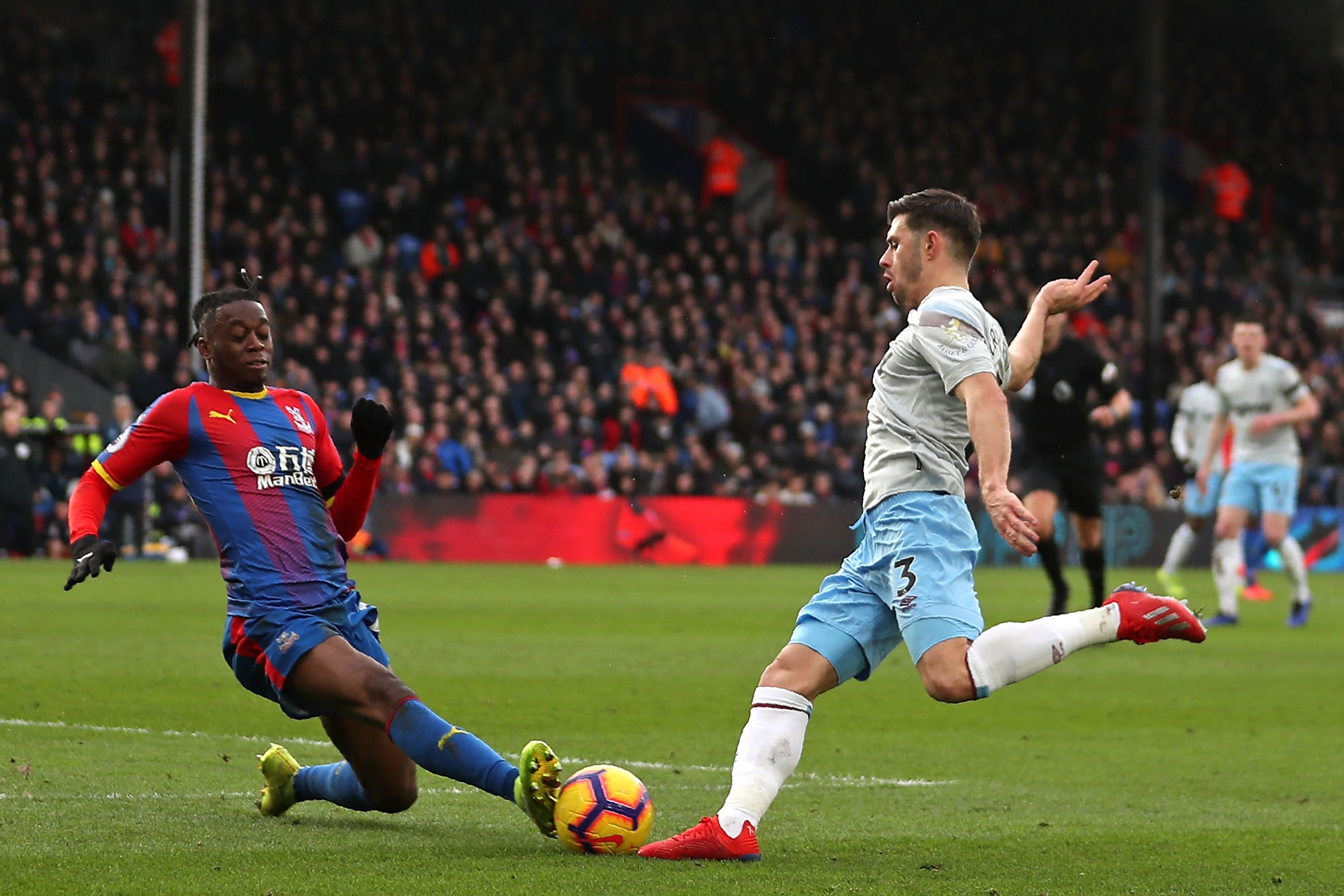 Wan-Bissaka, 21, has featured in 28 games for the Eagles this season
