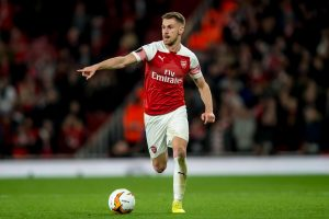 Arsenal star Aaron Ramsey out of Wales 2020 clash against Slovakia with thigh injury