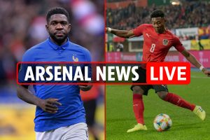 11pm Arsenal transfer news LIVE: Umtiti and Alaba bids, Ozil compared with Bergkamp