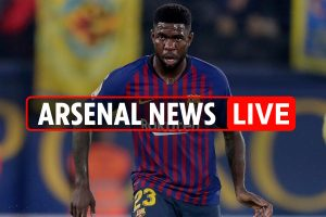 11pm Arsenal transfer news LIVE: Napoli build-up, Umtiti prefers Gunners to Man Utd, Overmars wanted