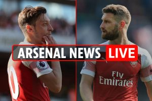 12.50pm Arsenal transfer news LIVE: Ozil, Mustafi and Mkhitaryan can leave, Thorgan Hazard link, Tagliafico blow