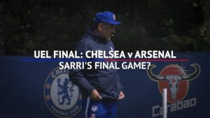 Football: Chelsea v Arsenal – Sarri's final game?