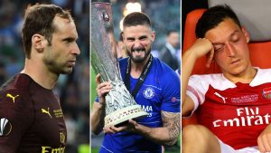 Toe Poke Daily: Chelsea's Giroud says 'Thank You Arsenal!' as he holds Europa League trophy