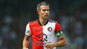 Ex-Man Utd and Arsenal forward Van Persie retires after final Feyenoord game