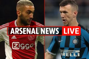 5pm Arsenal transfer news LIVE: Ziyech wants Gunners move, Koscielny can't go for under £10m, Perisic boost