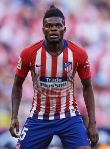 Man Utd and Arsenal transfer target Thomas Partey 'wants to play in England', reveals dad