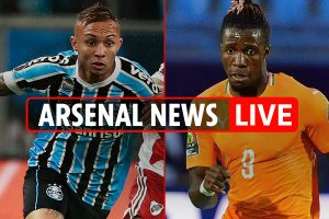 12.30pm Arsenal transfer news LIVE: Ceballos close to move, Zaha battle, Everton £36m deal close, Tierney LATEST