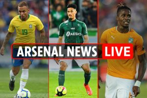 9pm Arsenal transfer news LIVE: Saliba medical TUESDAY, Everton learning English VIDEO, Zaha demands to leave Palace