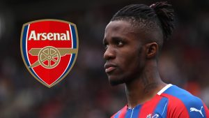 Arsenal target Zaha hits out at 'sad and annoying' transfer speculation