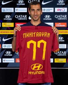 Arsenal winger Henrikh Mkhitaryan vague on plans to return to Gunners after securing loan transfer to Roma