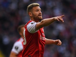 Arsenal fans get their wish as Shkodran Mustafi refuses to rule out transfer away