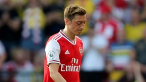 Emery: Ozil fits Arsenal style but still isn't guaranteed a place in the squad