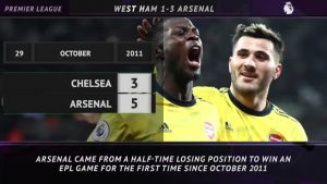 5 Things – Arsenal break eight year away record