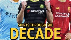 Shirts quiz: Man Utd, Man City, Liverpool, Spurs, Arsenal and Chelsea through the decade