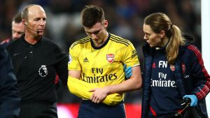 Tierney to undergo surgery as Arsenal rule him out for three months with dislocated shoulder