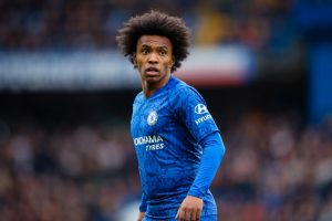 Arsenal leading race to sign Chelsea star Willian this summer