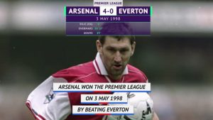 Football: On this Day: Arsenal win first Premier League title under Wenger