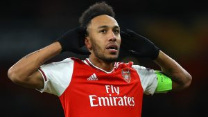 'Aubameyang could walk out of the door' – Adams fears Arsenal will lose top scorer