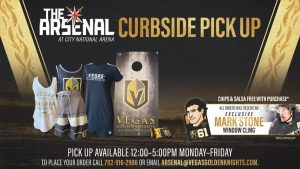 VGK Announce Retail Info For Curbside Shopping At The Arsenal At CNA