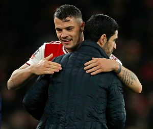 I had to convince Xhaka to stay at Arsenal, reveals Gunners manager Arteta
