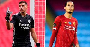 'Are you sure?' – Arsenal keeper Martinez tried to put off Liverpool's Van Dijk before Community Shield shoot-out