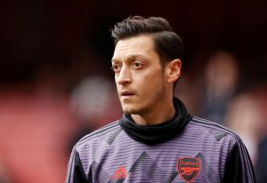 Soccer-Ozil disappointed after being axed from Arsenal's Premier League squad