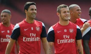 Arsenal boss Mikel Arteta raves over Jack Wilshere and discusses possible Gunners return
