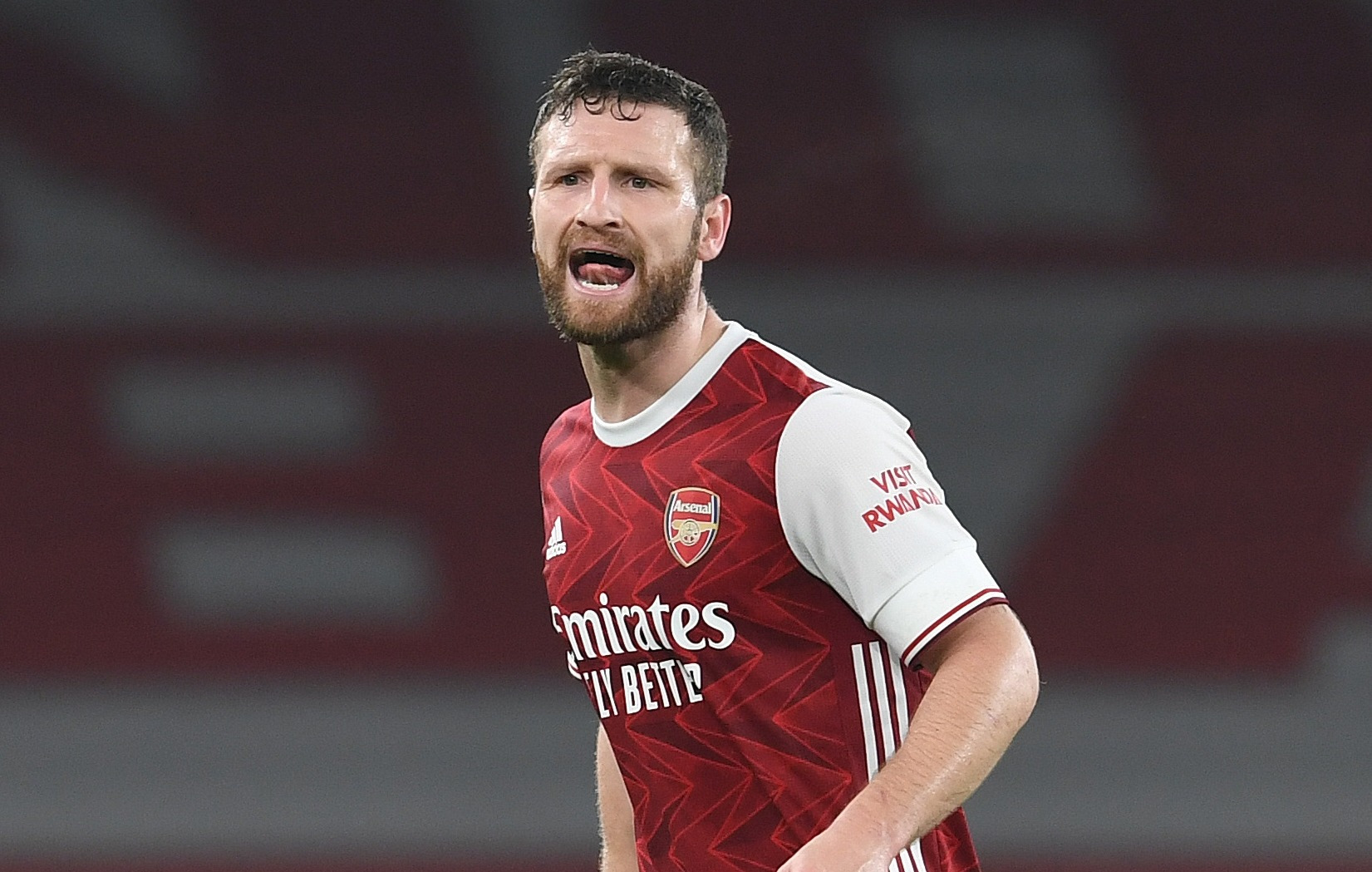 Shkodran Mustafi could be about to leave Arsenal after almost five years at the club