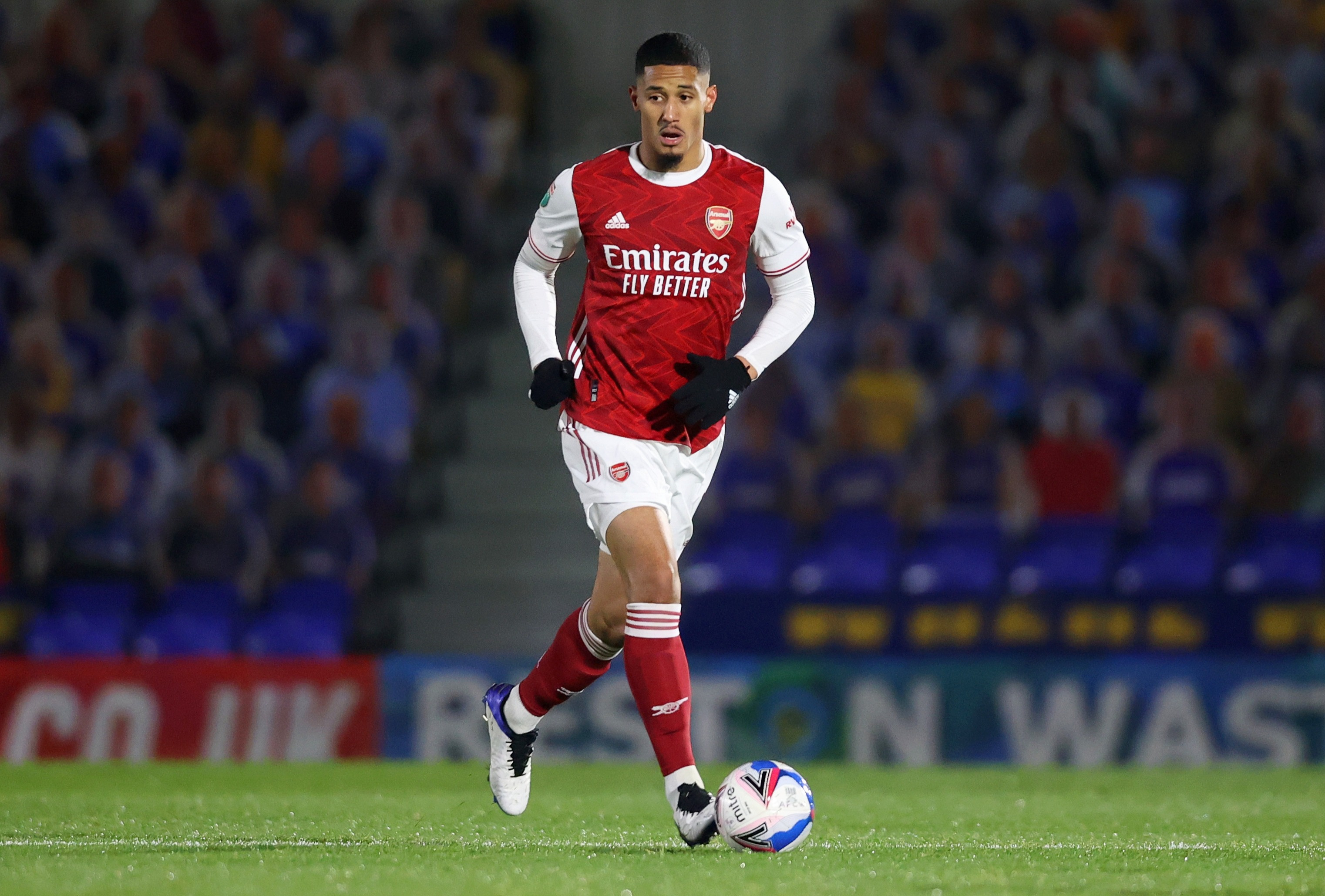 William Saliba is still yet to make his competitive debut for the Gunners