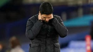 Arteta 'can't fault the spirit' of Arsenal players as scoring struggles continue