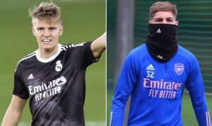 Arsenal sent Martin Odegaard transfer warning but deal backed to benefit Emile Smith Rowe