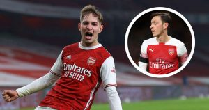 'Smith Rowe all over the place like Ozil never was' – Potential of Arsenal youngster excites Wright