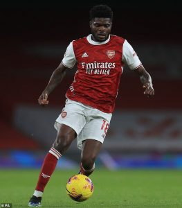 Arsenal boss Mikel Arteta confirms Thomas Partey will be available