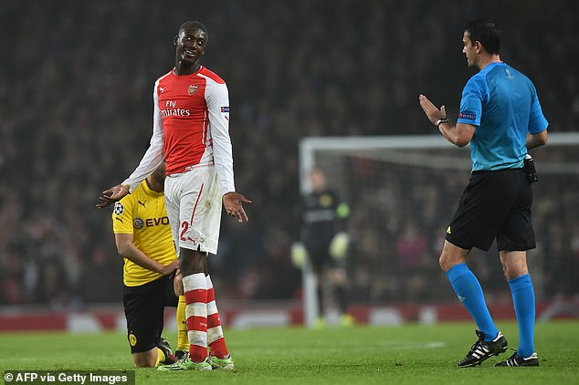 Sanogo flopped at Arsenal, making only 20 appearances for the club amid a host of loans