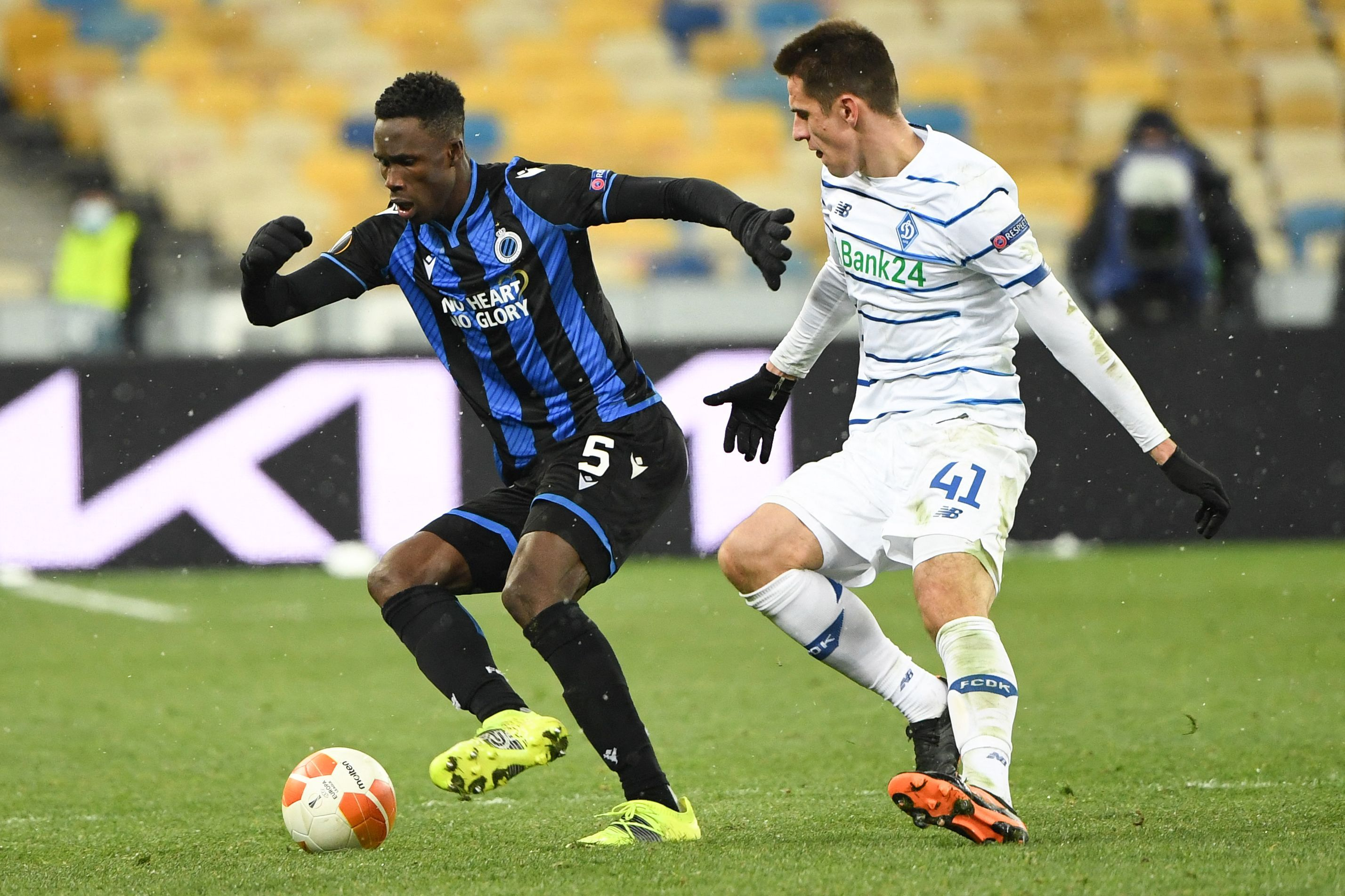 Arsenal are chasing Club Brugge defender Odilon Kossounou